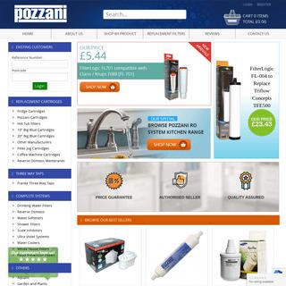 Pozzani Pure Water Online Store