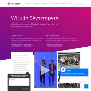 Kickstart je carrière bij Skyscrapers - Meer informatie over ons Traineeship