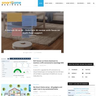 SmartHomeBeginner - Smart Home, Media, Server, and Technology
