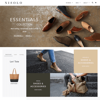 Leather Shoes & Accessories - Handcrafted and Ethically Made - Nisolo