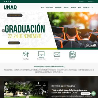 Inicio – UNAD- Universidad Adventista Dominicana