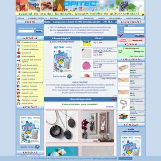 OPITEC-Hobbyfix - kreatív hobby és művészellátás - Márkák szuper áron!