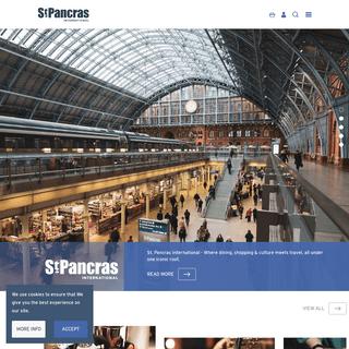 St. Pancras International - London Travel, Shopping & Dining