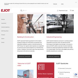 ArchiveBay.com - ejot.co.uk - EJOT UK - Custom Fasteners- Stainless Steel, Building & Industrial Fasteners & Fixings