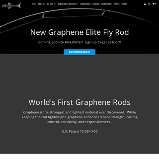 ArchiveBay.com - g-rods.com - G-Rods International - World's First and Only Graphene Fishing Rods!