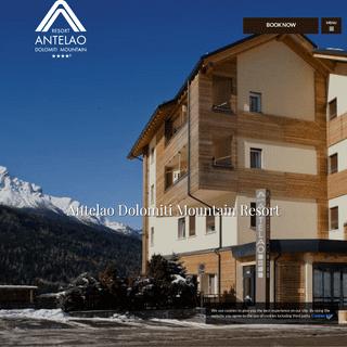Antelao Dolomiti Mountain Resort Borca di Cadore 4 star - Official Site