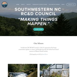 Southwestern NC Resource Conservation & Development Council