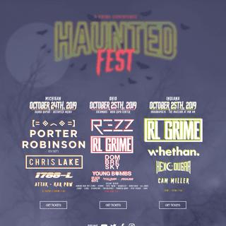 HauntedFest 2019