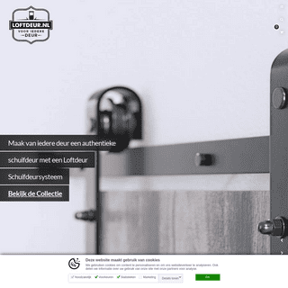 Loftdeur.nl - Klassiek Schuifdeursysteem voor iedere deur!