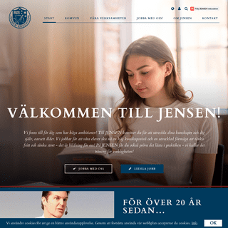 Ett av Sveriges största privata utbildningsföretag - JENSEN education