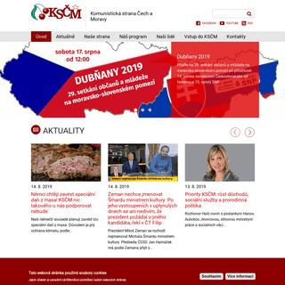 Komunistická strana Čech a Moravy