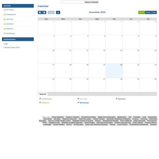 Calendar — Calendars