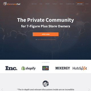 ArchiveBay.com - ecommercefuel.com - eCommerceFuel - The Private Community for 6 & 7 Figure Stores