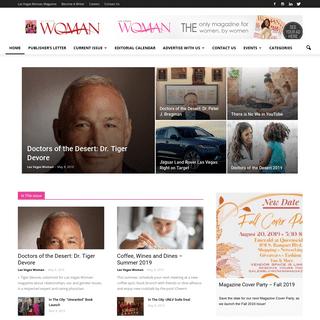 ArchiveBay.com - lvwomanmagazine.com - Las Vegas Woman Magazine - Leading - Motivating - Celebrating