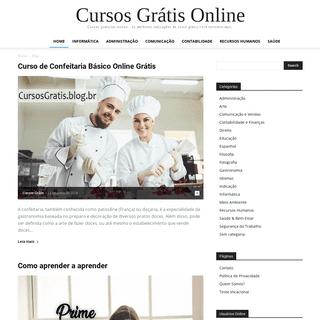 Cursos Grátis Online - Cursos gratuitos online – as melhores indicações de curso grátis você encontra aqui.