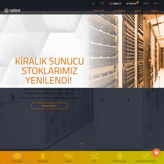 Veri Merkezi, Sunucu ve Hosting Çözümleri - Radore