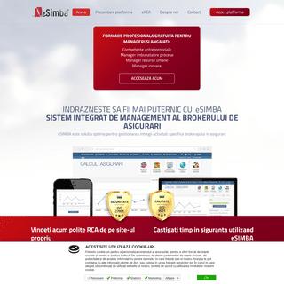 eSimba – Sistem Informatic de Management al Brokerului de Asigurari