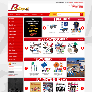 ArchiveBay.com - bnoticed.com - BNoticed - Put a Logo on It - The Promotional Products Marketplace
