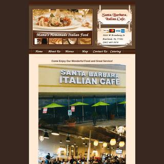 Santa Barbara Italian Cafe