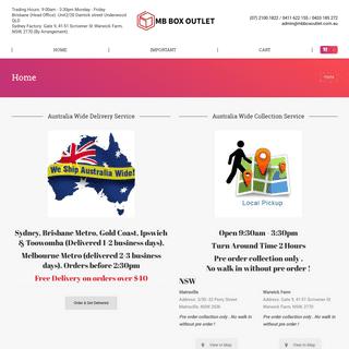 Home - Mbboxoutlet.com.au