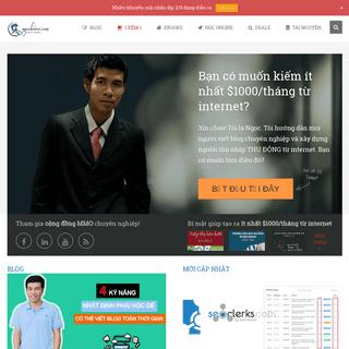 NgọcĐếnRồi - Hướng dẫn viết blog chuyên nghiệp, kiếm tiền online