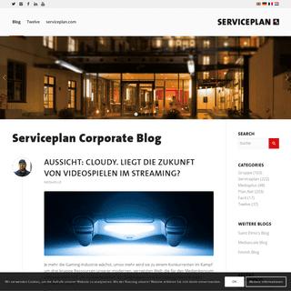 Serviceplan Blog