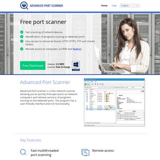 Advanced Port Scanner – free and fast port scanner