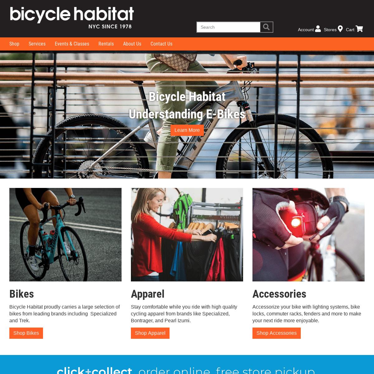 Bicycle Habitat - Bike Repair, Bike Rental, Bike Fitting - New York City