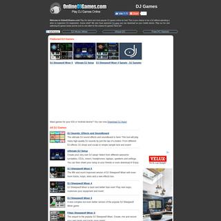 DJ Games - DJ Games Online