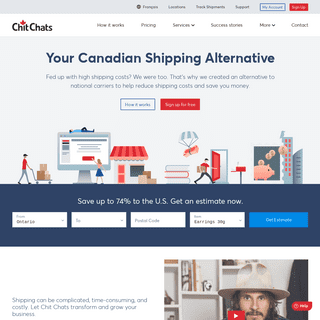 Ship USPS from Canada and save up to 74- - Chit Chats Express