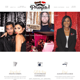 Props! Photo Booths – Make your event Pop with Props!