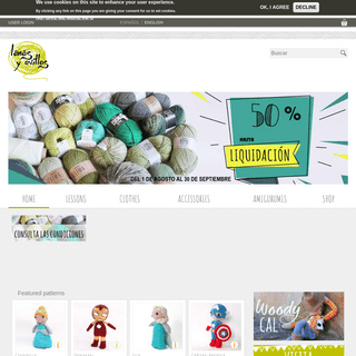 Lanas y Ovillos - Free crochet tutorials for crochet accessories, clothes, amigurumis - DIY