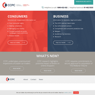 The Competition and Consumer Protection Commission