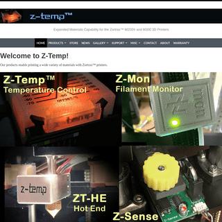 Welcome to Z-Temp™ - Z-TEMP