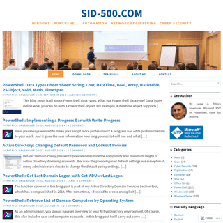 SID-500.COM – Windows . PowerShell . Automation . Network Engineering . Cyber Security