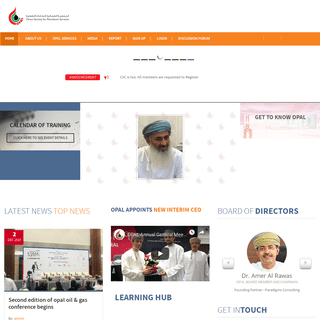 Opal – Oman Society for Petroleum Services