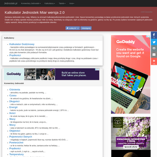ArchiveBay.com - jednostek.pl - Konwerter Jednostek