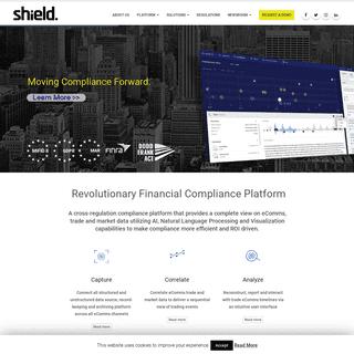 Shield Financial Compliance - Moving Compliance Forward.