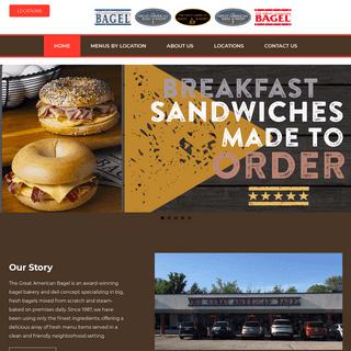 The Great American Bagel – Bagel Bakery
