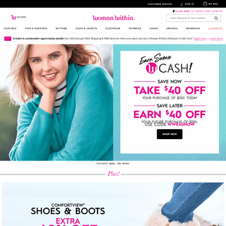 Comfortable, Casual Plus Size Clothing for Women - Woman Within