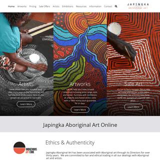 ArchiveBay.com - japingkaaboriginalart.com - Japingka Aboriginal Art Online - Australian Indigenous Artworks