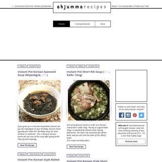 ArchiveBay.com - ahjummarecipes.com - Ahjummarecipes - Easy Korean Recipes