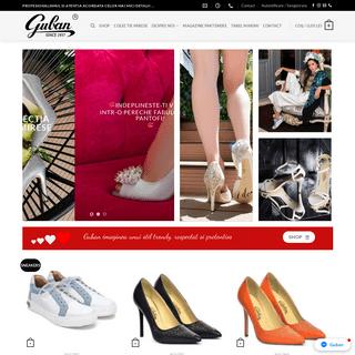 Pantofi din piele naturala Guban