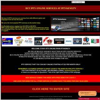 ArchiveBay.com - iptvkewltv.com - BUY IPTV ONLINE KEWLTV