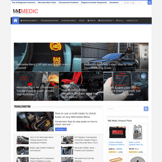 MB Medic – Mercedes-Benz Repair Guides, Service, How To DIY