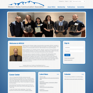 Western States Communication Association