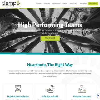 Tiempo Development - Leader in Nearshore Software Development