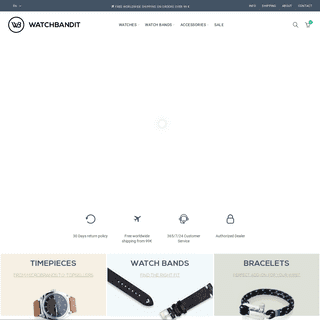 Mechanical Watches & Quality Straps Curated by WATCHBANDIT