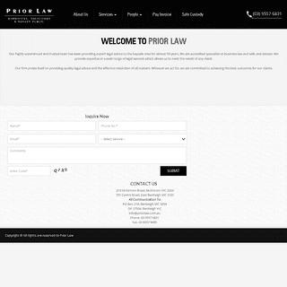 ArchiveBay.com - priorlaw.com.au - Home - Prior Law