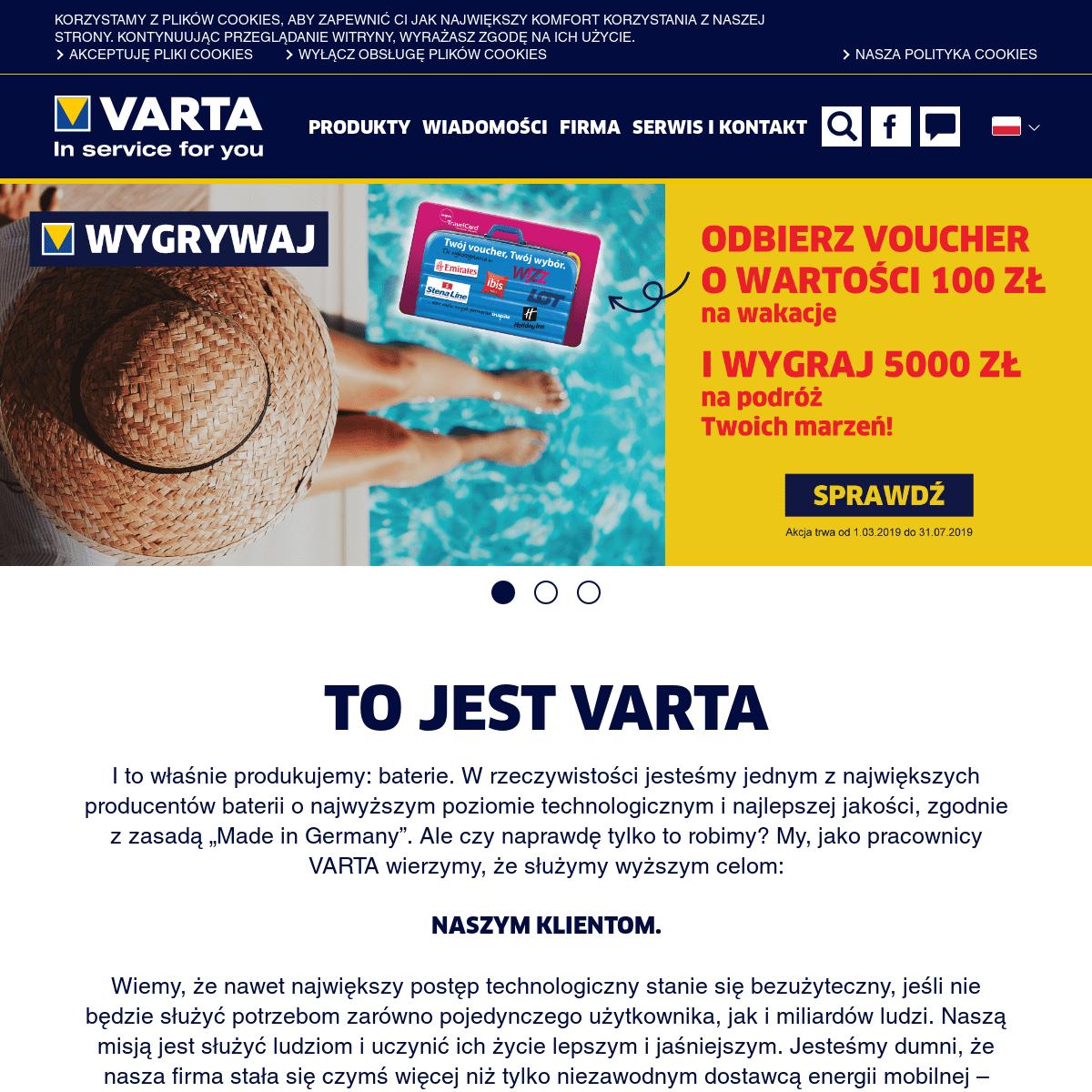 ArchiveBay.com - varta-consumer.pl - VARTA Consumer Batteries